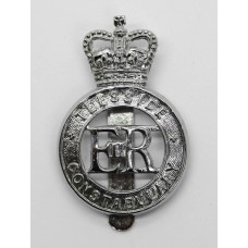 Teeside Constabulary Cap Badge - Queen's Crown