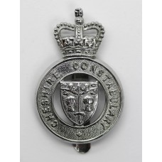 Cheshire Constabulary Cap Badge - Queen's Crown