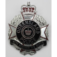 Australia Queensland Police Hat Badge - Queen's Crown