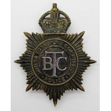 British Transport Commission (B.T.C.) Police Night Helmet Plate -