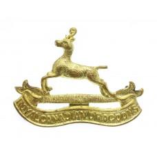 Royal Canadian Dragoons Cap Badge