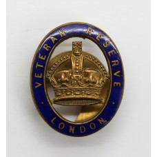 Veteran Reserve London Enamelled Lapel Badge