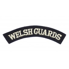Welsh Guards (WELSH GUARDS) Cloth Shoulder Title