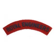 Royal Engineers (ROYAL ENGINEERS) Cloth Shoulder Title