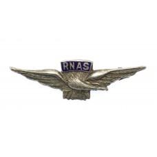 WWI Royal Naval Air Service (R.N.A.S.) Sterling Silver & Enam