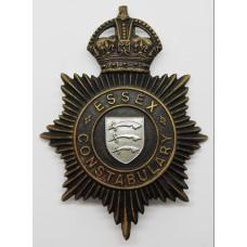 Essex Constbulary Night Helmet Plate - King's Crown