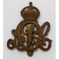 Army Pay Corps (A.P.C.) Cap Badge - King's Crown
