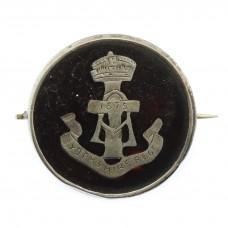 WWI Yorkshire Regiment (Green Howards) 1915 Hallmarked Silver &am