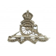 WWI Royal Artillery Territorials Sterling Silver Sweetheart Brooc