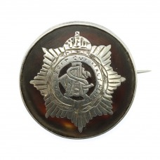 WWI Army Service Corps (A.S.C.) 1917 Hallmarked Silver & Tort