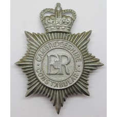 Cambridgeshire Constabulary Helmet Plate - Queen's Crown