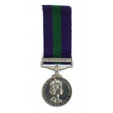 General Service Medal (Clasp - Cyprus) - Gdsm. D. Farr, Grenadier