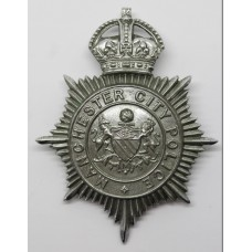 Manchester City Police Helmet Plate - King's Crown