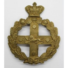 Victorian New South Wales Defence Force (Australia) Helmet Plate