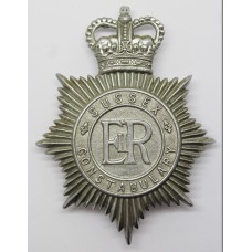 Sussex Constabulary Helmet Plate - Queen's Crown
