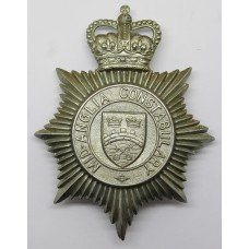 Mid-Anglia Constabulary Helmet Plate - Queen's Crown