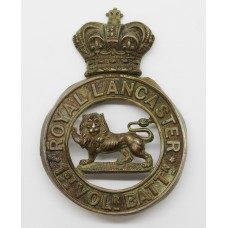 Victorian 1st Volunteer Bn. Royal Lancaster Regiment Glengarry Badge