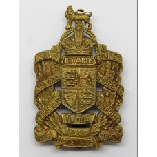 King Edward's Horse Cap Badge - King's Crown