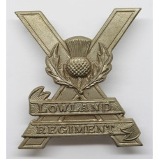 Lowland Regiment Cap Badge