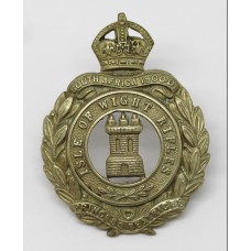 8th Bn. (Isle of Wight Rifles) Hampshire Regiment Cap Badge - King's Crown