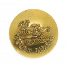 City of London Yeomanry (Rough Riders) Officer's Button (26mm)