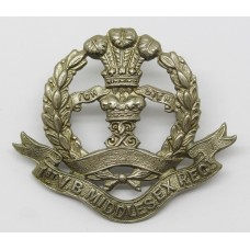 1st Volunteer Bn. Middlesex Regiment Cap Badge