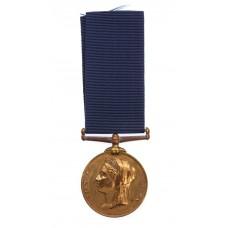 1897 Metropolitan Police Jubilee Medal - Police Sergeant W. Freeman