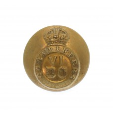 6th Dragoon Guards (Carabiniers) Officer's Button - King's Crown