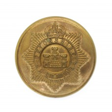 Devonshire Regiment Officer's Button - King's Crown (26mm)
