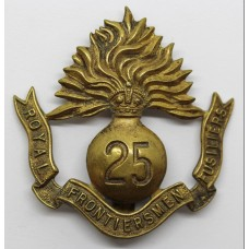 Rare WW1 25th Bn. (Frontiersmen) Royal Fusiliers Cap Badge