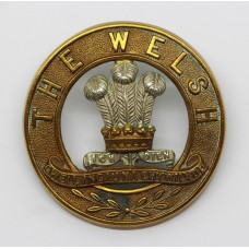 Welsh Regiment Helmet Plate Centre