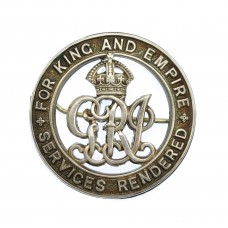 WW1 Silver War Badge (No. 160553) - A/ C.Sgt. A.J. Grant, Notts & Derby Regiment (Sherwood Foresters) (Only Entitlement)