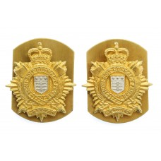 Pair of Royal Logistic Corps (R.L.C.) Collar Badges