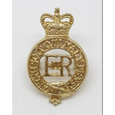 EIIR Household Cavalry Anodised (Staybrite) Cap Badge