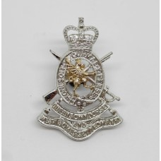Queen's Own Dorset and West Somerset Yeomanry Anodised (Staybrite) Collar Badge