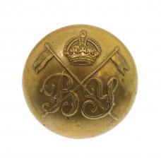Bedfordshire Yeomanry Officer's Button - King's Crown (25mm)