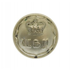 Victorian West Somerset Yeomanry White Metal Button (20mm)