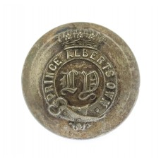 Leicestershire Yeomanry (Prince Albert's Own) Officer's Silvered Button (26mm)