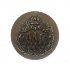 Queen Mary's Army Auxiliary Corps (Q.M.A.A.C.) Officer's Button (24mm)