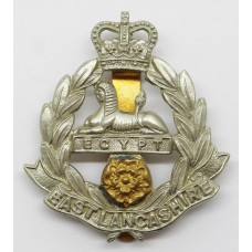 East Lancashire Regiment Cap Badge - Queen's Crown