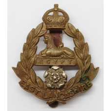 East Lancashire Regiment Militia Bn. Cap Badge - King's Crown