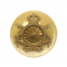 WWI Army Cyclist Corps Officer's Button (26mm)