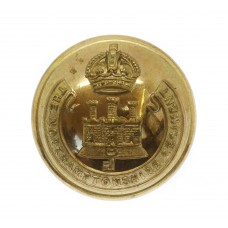 Northamptonshire Regiment Officer's Button - King's Crown (26mm)