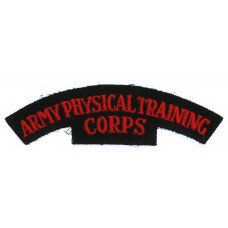 Army Physical Training Corps (ARMY PHYSICAL TRAINING/ CORPS) Cloth Shoulder Title