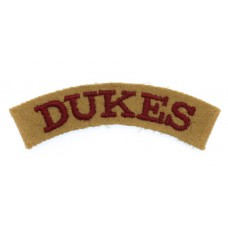 South African Cape Town Rifles (DUKES) Cloth Shoulder Title