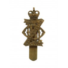 13th/18th Royal Hussars Cap Badge - Queen's Crown