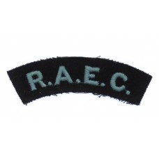 Royal Army Educational Corps (R.A.E.C.) Cloth Shoulder Title