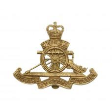 Royal Artillery Beret Badge - Queen's Crown