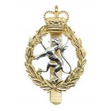 Women's Royal Army Corps (W.R.A.C.) Anodised (Staybrite) Cap Badg