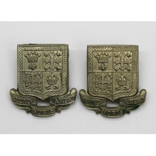 Pair of 13th County of London Bn (Kensington) London Regiment Collar Badges